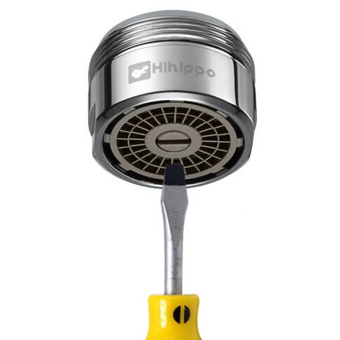 Aerator Hihippo regulowany SR 3.0 - 8.0 l/min - Gwint M24x1 zewnętrzny - najbardziej popularny