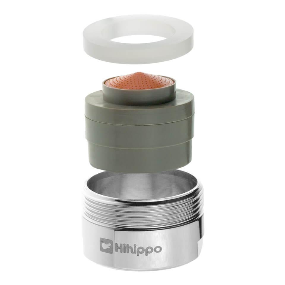 Aerator Hihippo regulowany R 1.8 - 8.0 l/min - Gwint M24x1 zewnętrzny - najbardziej popularny