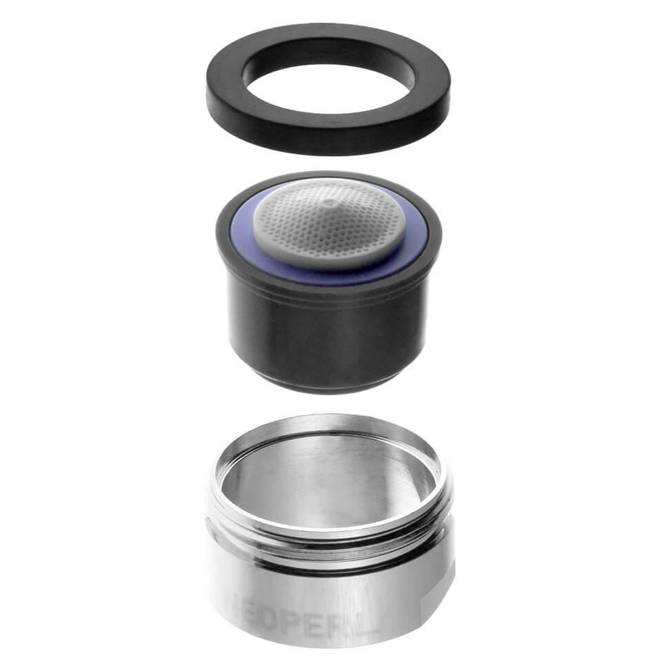 Aerator Neoperl perlator Spray 3 l/min - Gwint M24x1 zewnętrzny - najbardziej popularny